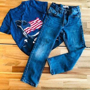 Boys size 6 Levi Jeans